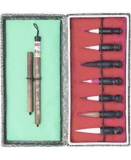 Kalligrafie-Pinsel-Set - Bild vergrößern