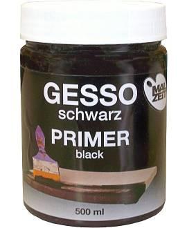 Gesso schwarz, 500 ml - Bild vergrößern