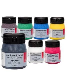 Aqua-Linoldruckfarbe 250 ml - Bild vergrößern