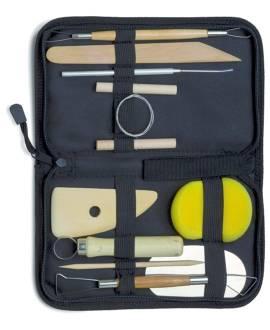 Töpferwerkzeug Set, 11-teilig - Bild vergrößern