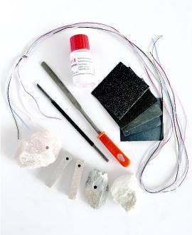 Speckstein Schmuck-Set - Bild vergrößern