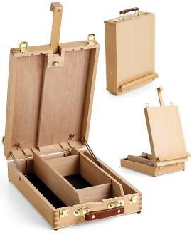 Koffer-Staffelei LIFFEY - Bild vergrößern