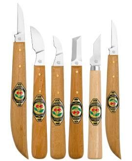 Kirschen Kerbschnitzmesser - Bild vergrößern