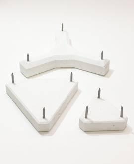 Keramik - Stahl - Dreispitz - Bild vergrößern