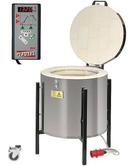 PROFITHERM PY 135 HD, 137 Liter, bis 1.320°C - Bild vergrößern