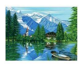 Waldhütte, 30 x 40 cm - Bild vergrößern