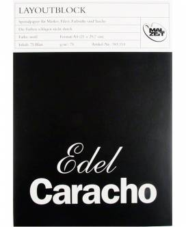 Layoutblock Edel Caracho, 75 g/m² - Bild vergrößern