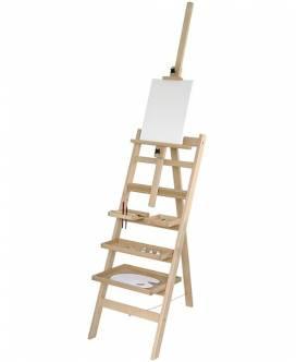 Leiter- und Ablagestaffelei - Bild vergrößern