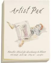 Artist Pad, A4, 170 g/m²