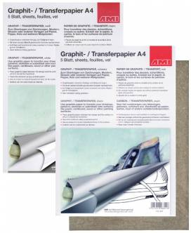 Graphitpapier A4, 5 Blatt