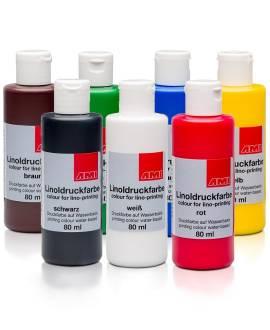Aqua-Linoldruckfarbe 80 ml