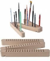 Stifte- und Pinselhalter Buchenholz
