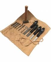 Werkzeug-Set für mittelharten Stein