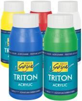 Goya Solo Triton Acryl-Farbe, 750 ml Flasche