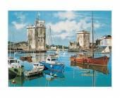 Hafen La Rochelle, 30 x 40 cm