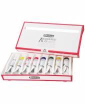 Schmincke AKADEMIE ® Ölcolor Set, 8 Tuben à 20 ml