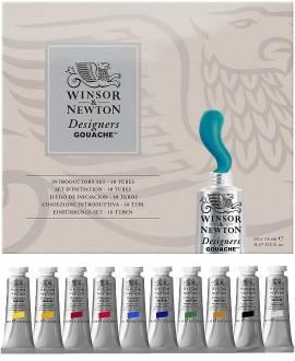 Winsor & Newton Designers Gouache, Starter-Set