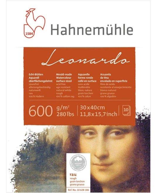 Hahnemühle - Leonardo - Bütten-Aquarellblock, 30 x 40 cm