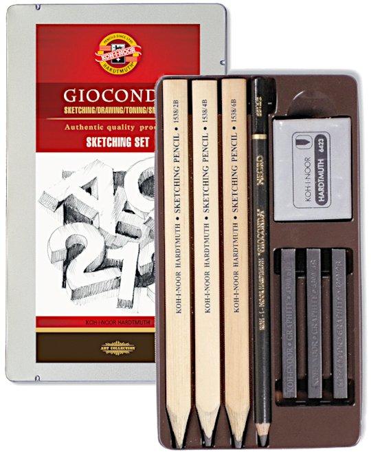 GIOCONDA Sketching- Set 8892